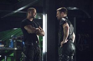 John Diggle/Spartan & Oliver Queen/Green Arrow