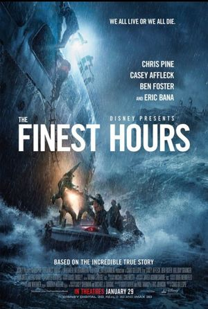 Official Poster for Disney's 'The Finest Hours'