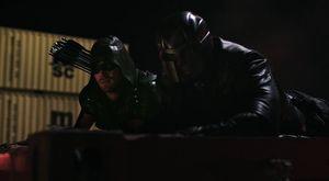 Oliver Queen/Green Arrow & John Diggle/Spartan