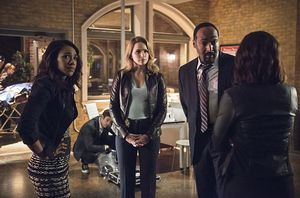Iris West, Patty Spivot, Joe West