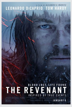 New Poster for The Revenant, Featuring Leonardo DiCaprio