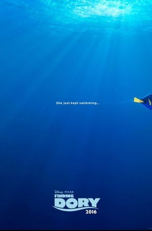 Teaser poster for 'Finding Dory' coming to theaters in 2016!