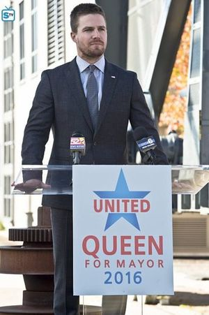 Oliver Queen mayoral campaign speech