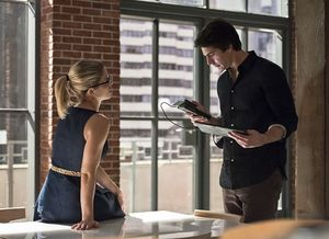 Felicity Smoak & Ray Palmer working together again