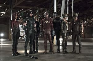 First Image for 'The Flash' and 'Arrow' Crossover