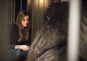 Dr. Caitlin Snow and Gorilla Grodd