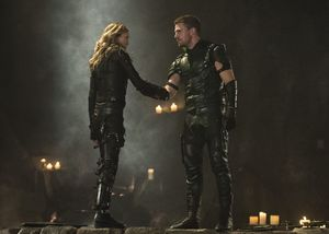 Laurel Lance/Black Canary, Oliver Queen/Green Arrow