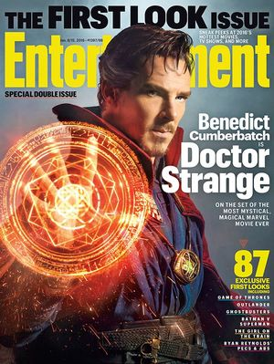 First Look: Benedict Cumberbatch as Marvel's Doctor Strange