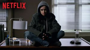 Krysten Ritter as Jessica Jones in Netflix's new series
