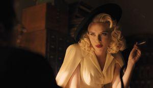 Scarlett Johansson teasing in Hail, Caesar!