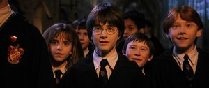 Daniel Radcliffe in the original Harry Potter film