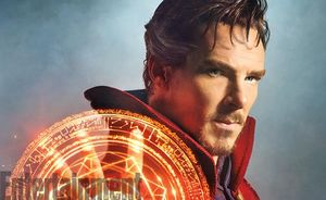 Benedict Cumberbatch as Marvel's Doctor Strange
