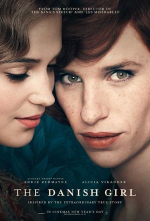 The Danish Girl clean blue-ish poster