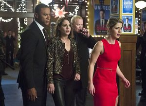 Team Arrow after Damian Darhk crashes holiday party