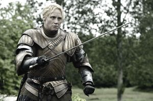 Brienne of Tarth, played by Gwendoline Christie