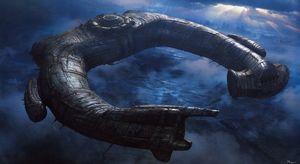 Alien/Engineer Ship