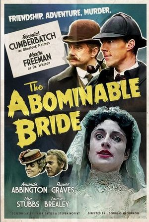 New retro poster for Sherlock: The Abominable Bride