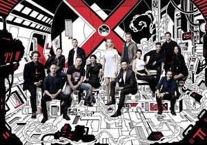 Check out this X-Men universe cast photo