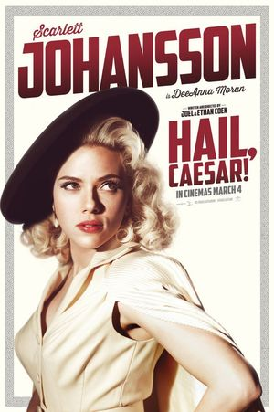 Scarlett Johansson is DeeAnna Moran in Hail, Caesar!