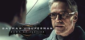 Jeremy Irons confirms Wayne Manor burnt out, Alfred and Bruc