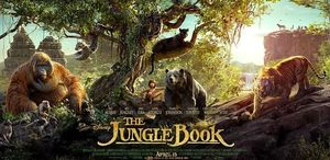 All Three Jungle Book Posters in One Composition.