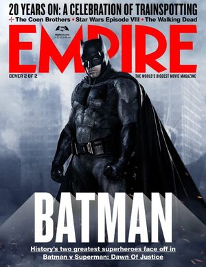 New Empire Magazine Cover Features the Dark Knight