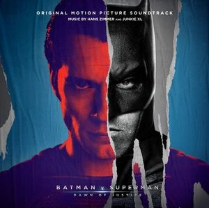 Batman v Superman Soundtrack Art