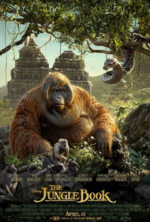 Jungle Book Poster featuring King Louie and Kaa
