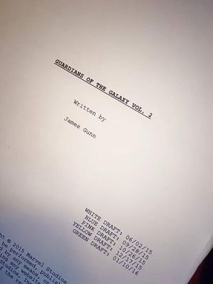 Director James Gunn Announces Completed Script for Guardians