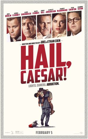 Lights, Camera, Abduction on newest poster for 'Hail, Caesar