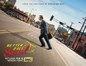 Better Call Saul Season 2 Art has Bob Odenkirk in an Uphill