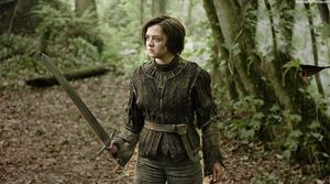 Maisie Williams in Game of Thrones