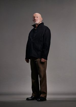 Jonathan Banks as Mike in Character Portrait for Better Call