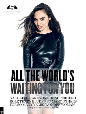 Gal Gadot highlighted in March cover of Empire