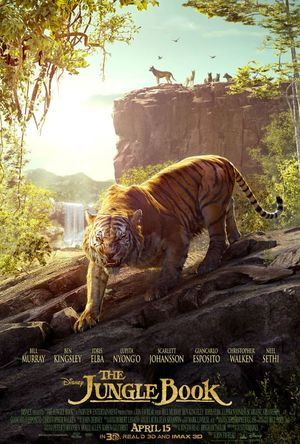 The Jungle Book Poster featuring Shere Khan