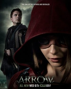 New Poster for the Upcoming Episode of Arrow