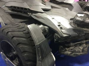 Batmobile Close-Up