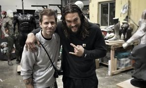 Zack Snyder posts Justice League teaser featuring Jason Momo