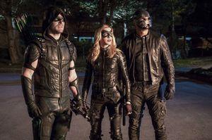 Green Arrow, Black Canary, Spartan