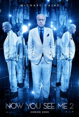 Michael Caine character poster