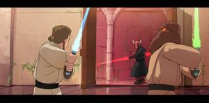 Star Wars, Imagined in the style of Studio Ghibli