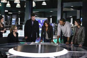Team Arrow with Vixen & Samantha Clayton