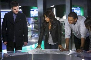 Oliver, Vixen, Diggle and Thea