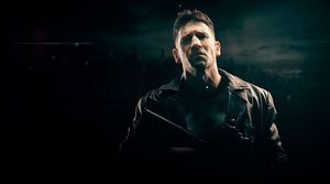 Jon Bernthal as the Punisher in promo poster