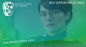 Kate Winslet wins Best Supporting Actress for her role in 'S