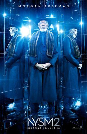 Morgan Freeman character poster