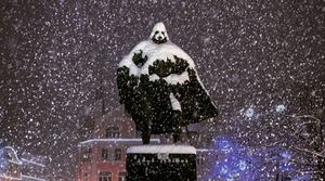 Because even the elements love Star Wars, this Polish statue