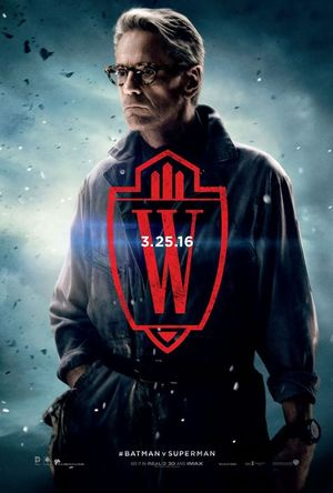 Jeremy Irons as Alfred in new character poster