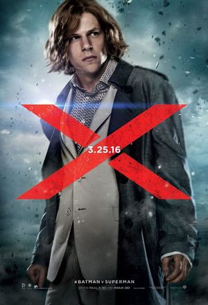 Jesse Eisenberg as Lex Luthor in new poster