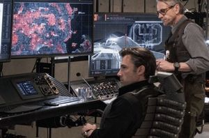 Ben Affleck and Jeremy Irons in new image from Batman v Supe
